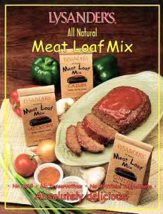 LysanderMeatLoaf Seasoning Mixes